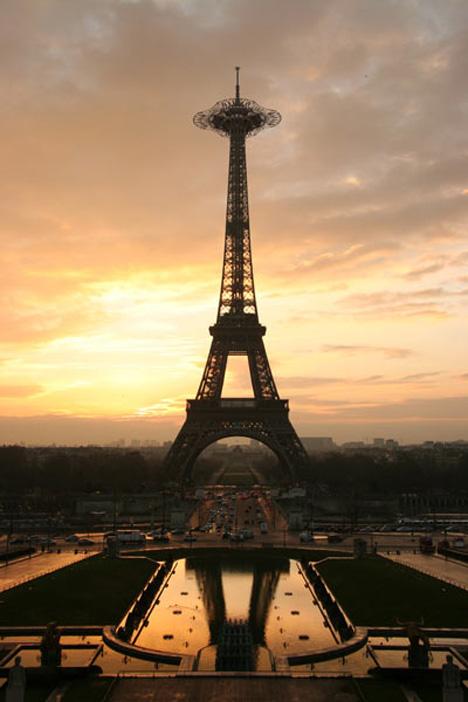Sacré bleu! Eiffel Tower to get a make-over!