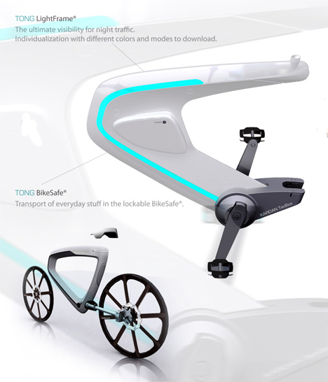 One Seriously Tight Light Bike Yanko Design
