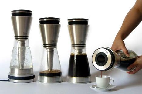 Coffee making magic