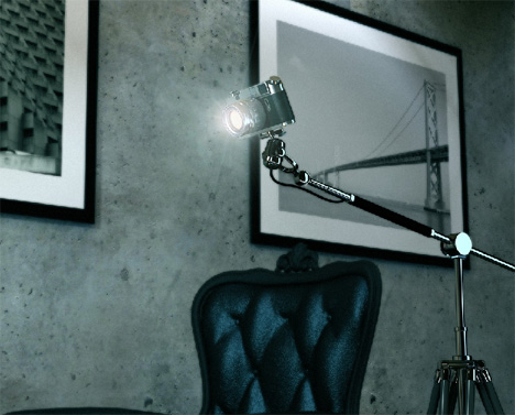Lights….Camera….Perspektiva Lamp action!