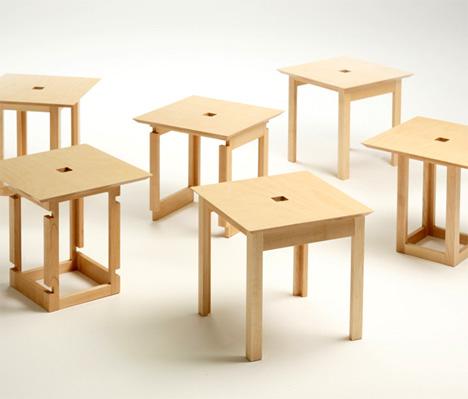 Un cubo de bancos de madera es cuesti n de madera - Bancos de madera para interior ...