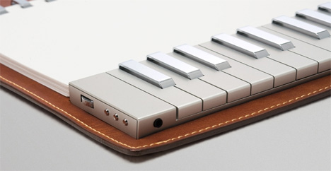 Keyboard solo yanko design for Piano for small space