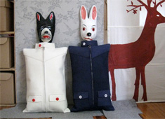 Jacket Pillows, With Heads?