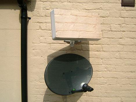 Stealth Satellite Dish