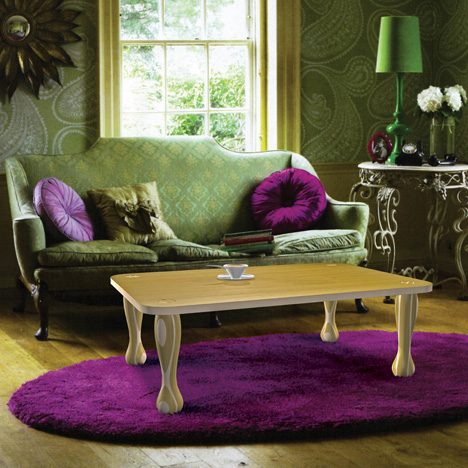 Smallrooms for Purple and green living room ideas