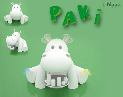 Paki The Hippo Is Eco-Edutainment