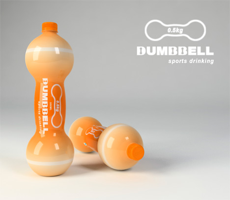 This Plastic Bottle Makes You Muscley