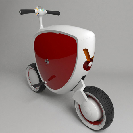 "Nissan Mori Scooter. My First ""Car"""