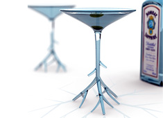 Martini Glass to Compliment Bombay Sapphire