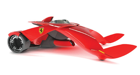 A Futuristic Ferrari. Speed is a Given but Automated