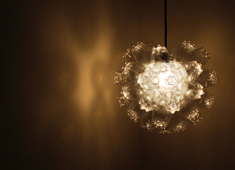 burst of light and refraction. The fixture also lets you affect the