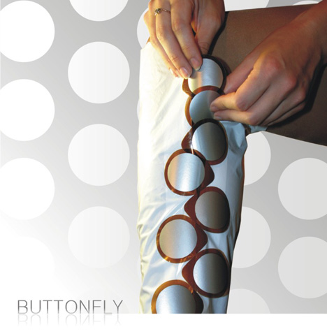 The ButtonFly Zipper