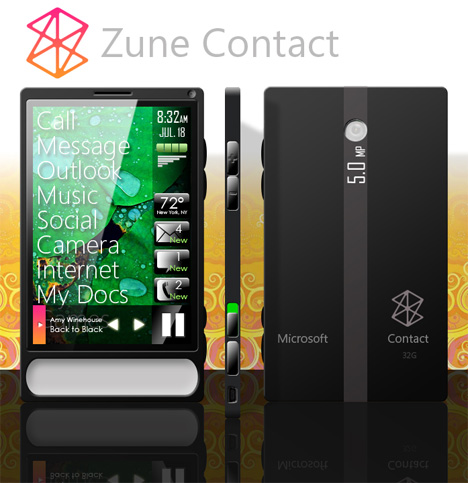Zune Phone Finally, Okay Maybe