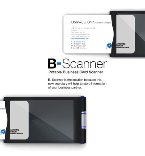 Scanner Business Card Scanner