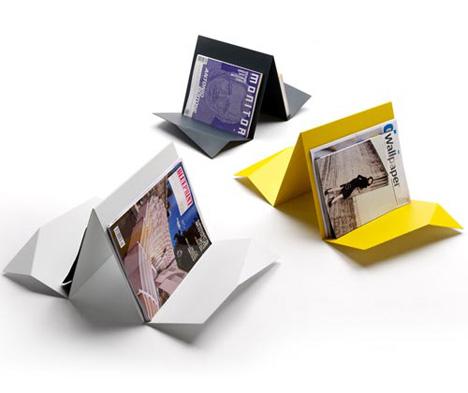 Fold Magazine Racks