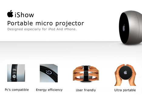 iShow, Micro Projection for Your i-memes