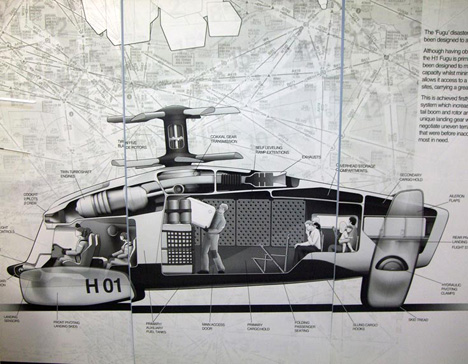 Duck Billed Helicopter Saves Lifes