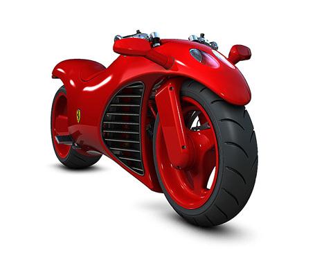 Moto Ferrari do futuro