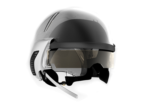 Poncherello's New Safety Helmet