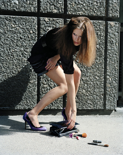 Rugged High-heels