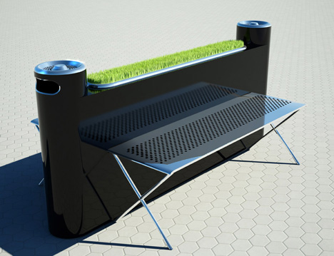 A Bench Just for Smokers