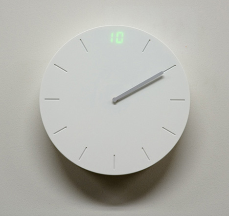 Digital and Analog, Perfectly in Sync for the Clock Which has Captured My Heart