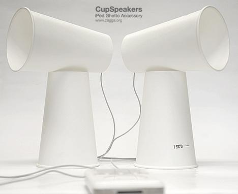 MacGyver Tries iPod Speakers
