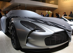 Too Soon? Seemingly Recession-Proof Aston Martin Presents the Luxury One-77