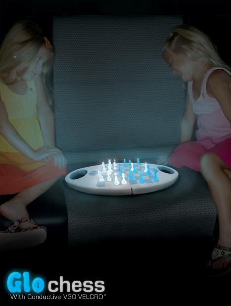 Glow Chess, Watch Out It Sticks!