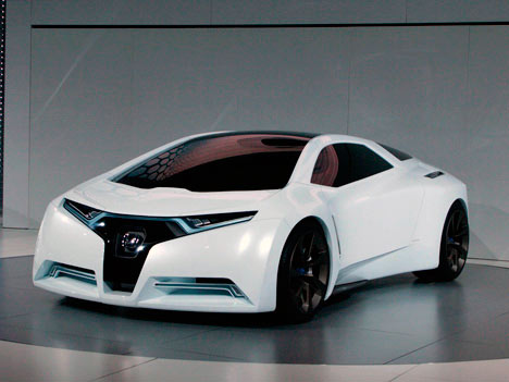 Hydrogen-powered sports car