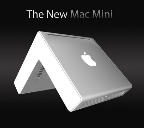 New Mac Mini Concept, OMG It's not Boxed Shaped!