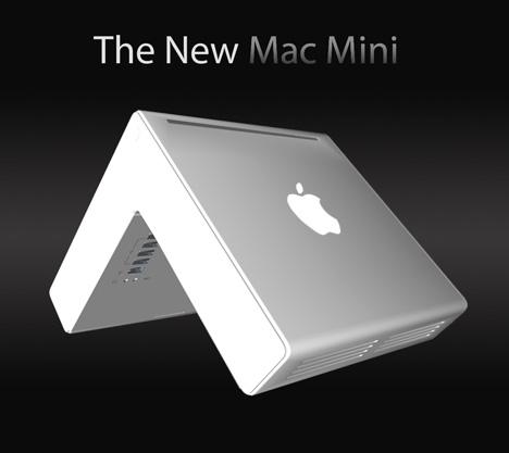 New Mac Mini Concept, OMG It's not Boxed Shaped!