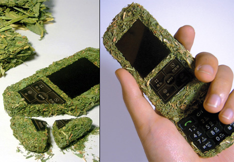 Now That's a Grassy Phone