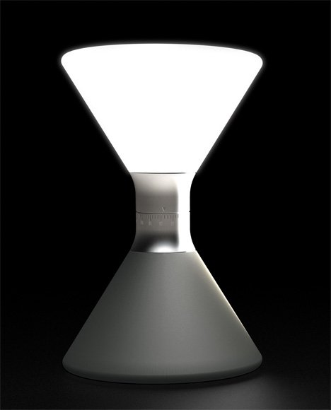 Even an Hourglass Goes High Tech