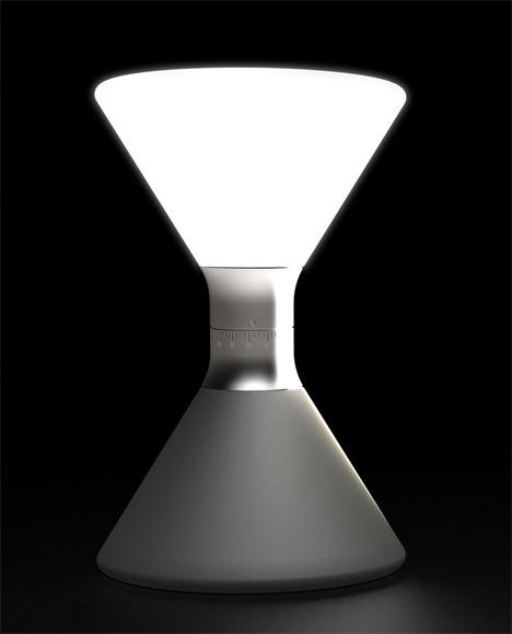 Even an Hourglass Goes High Tech