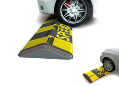 Speed Bumps That Flatten for Slow Speeds
