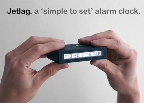 Airplane Alarm Clock Redux