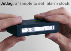 Airplane Alarm Clock Redux
