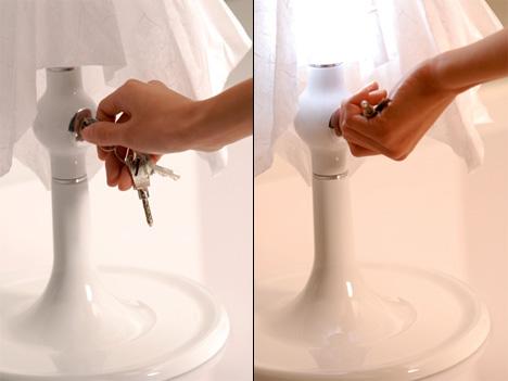 Lamp Under Lock & Key