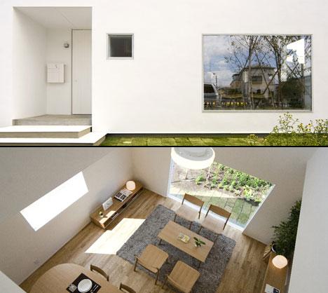 Kengo kuma houses for muji yanko design for Muji home design