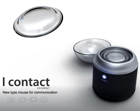 Contact Lens Kinda Makes You Cyborgy