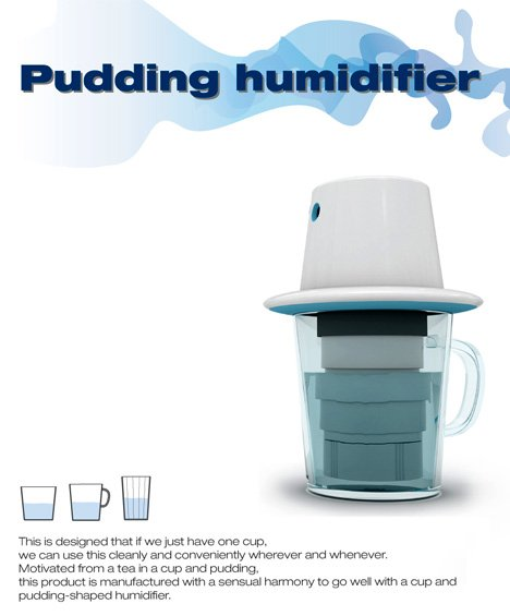 Personal Humidifier in a Cup