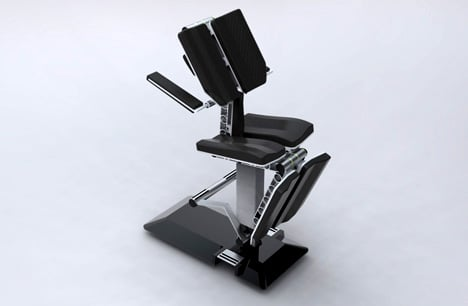 Ink-chair: Adjustable Chair for Tattoo-artists by Bjorn Fink » Yanko Design