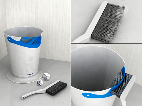 Brush Can, Cleans A Fine Toothed Comb