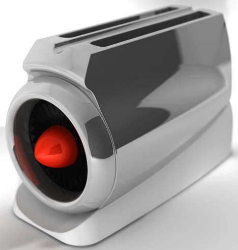 toaster re reimagined. Black Bedroom Furniture Sets. Home Design Ideas