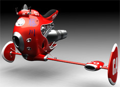 Fantasy Comes Alive With The JetBike