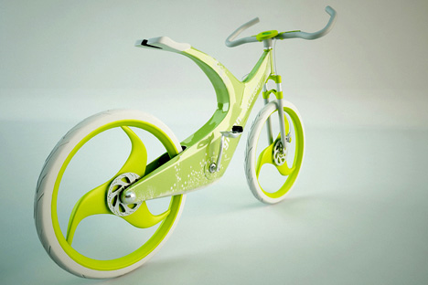 bicikli design, nem csak divatból