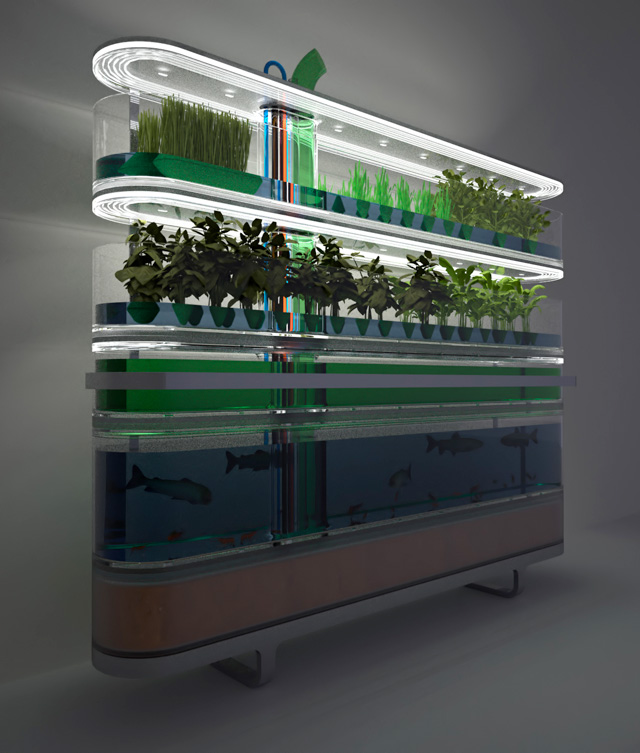 Biosphere Home Farming by Yanko Design