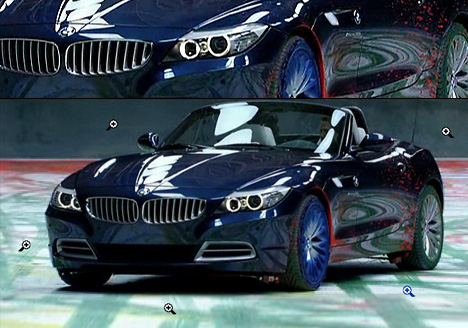 How to Paint with a Brand New BMW  Yanko Design
