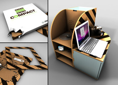Cardboard Furniture, Surprisng Results